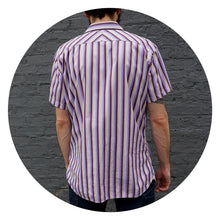 STRIPED SHORT SLEEVE - MEN'S SIZE L