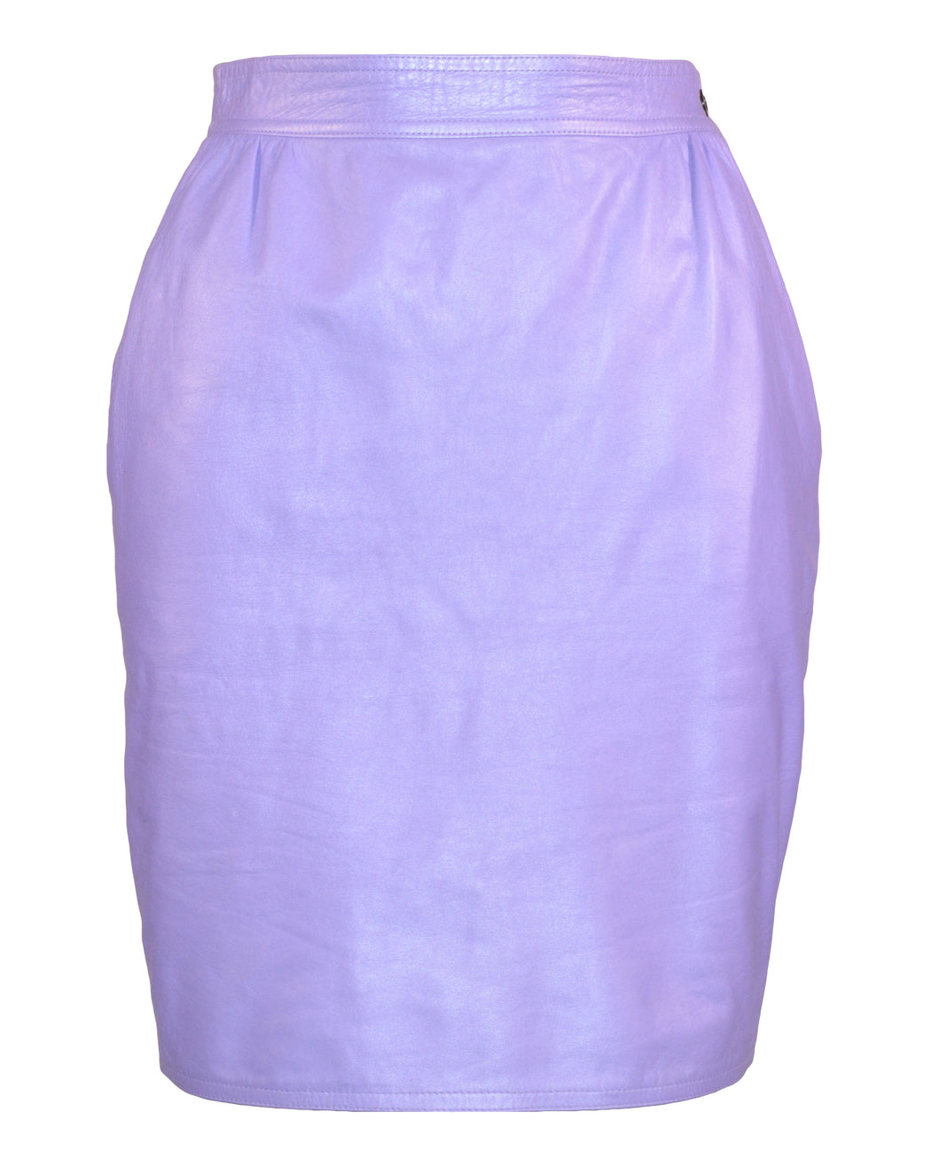 LEATHER PENCIL SKIRT - WOMEN'S SIZE XS