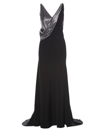 THIERRY MUGLER GOWN - WOMEN'S SIZE FR40