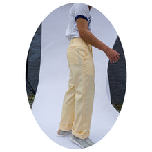 YELLOW TROUSER - SIZE 31