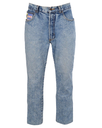 ACID WASH DENIM - MEN'S SIZE 36