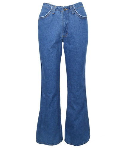 PIPING DENIM - WOMEN'S SIZE S