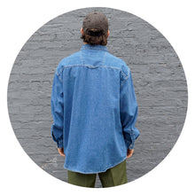 DENIM LONG SLEEVE - MEN'S XL