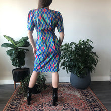 DIAMOND PRINT DRESS - WOMEN'S SIZE 4