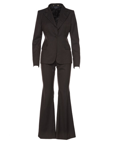 GUCCI PINSTRIPE SUIT - WOMEN'S SIZE IT42