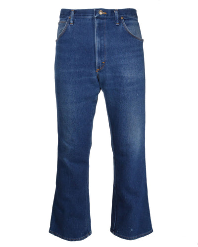 CROPPED FLARE DENIM - MEN'S SIZE 36
