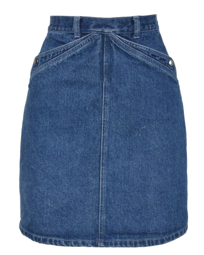 DENIM MINI SKIRT - WOMEN'S SIZE XS