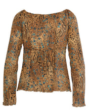 MEOW PEASANT TOP - WOMEN'S SIZE M