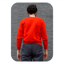 RED PULLOVER - MEN'S SIZE S