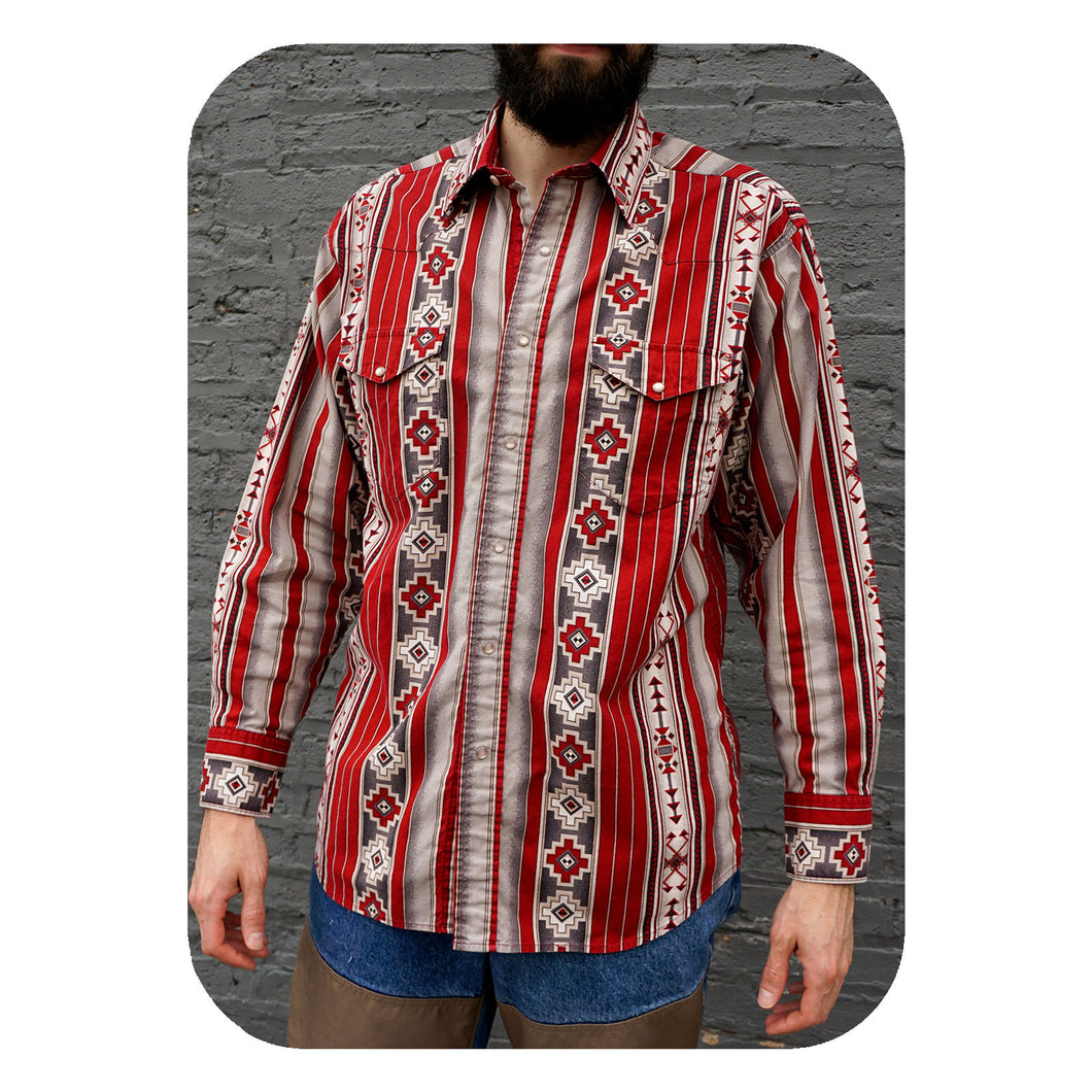 WESTERN SHIRT - MEN'S SIZE L