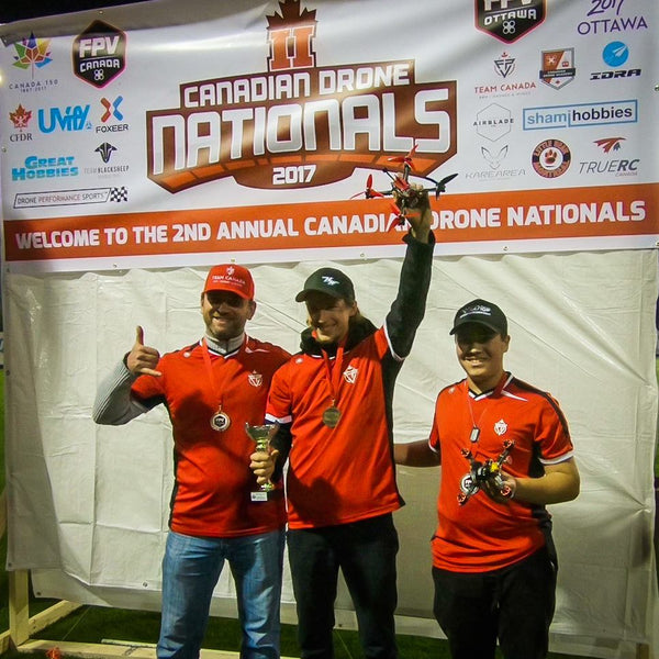 Huge Success At The Canadian Drone Nationals, Top 3 Spots Taken By Our Pilots!