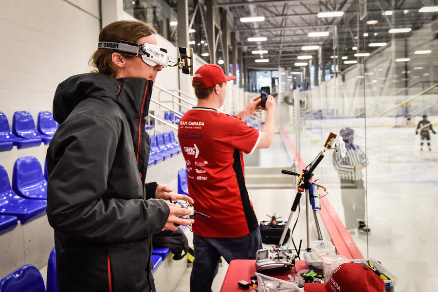 Team Canada FPV Was Invited By National Bank To Film A Hockey Tournament