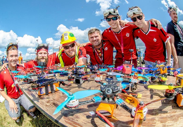 TOP 5 FPV Racing Team For Multi GP Race And A Whole Lot Of Fun