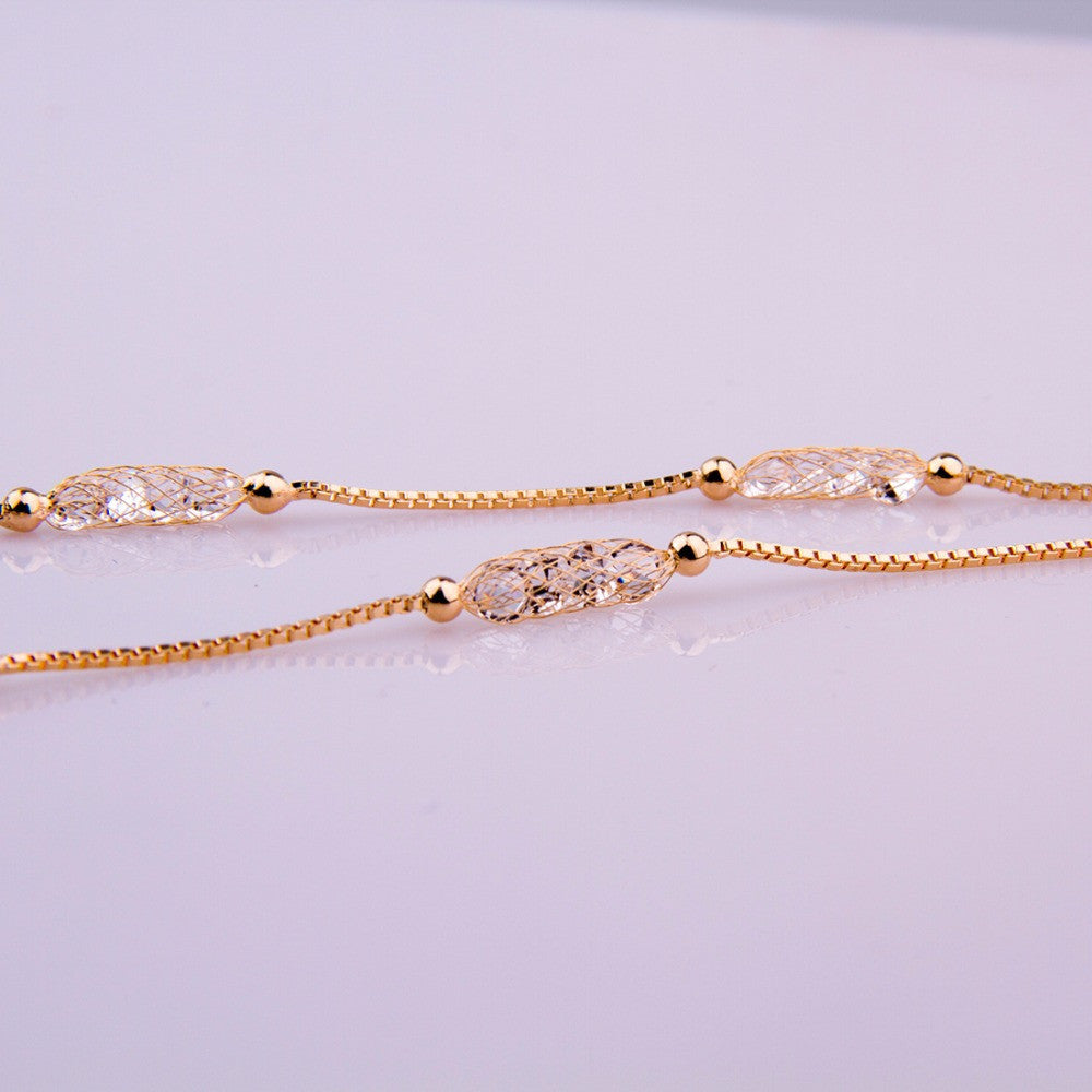 The Champagne Luxe Necklace - Panache Exclusive Jewelry
