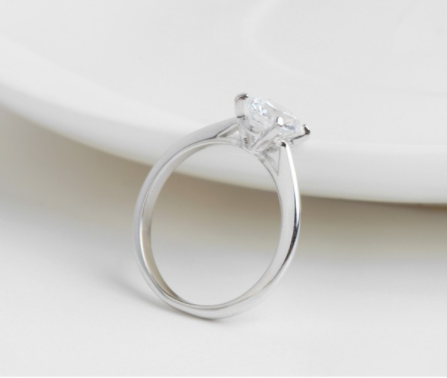 The Hearts and Arrows Ring - Panache Exclusive Jewelry