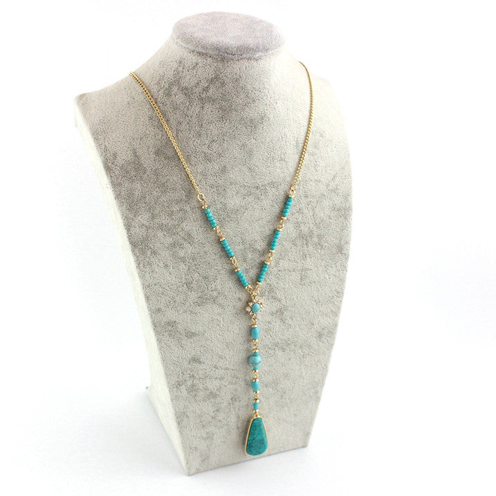 The Azure Necklace - Panache Exclusive Jewelry