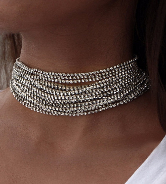 The Amira Choker Necklace - Panache Exclusive Jewelry
