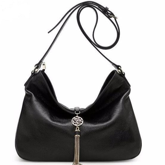 The Isabella Leather Handbag - Panache Exclusive Jewelry