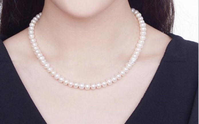 The Cassandra Pearl Necklace - Panache Exclusive Jewelry