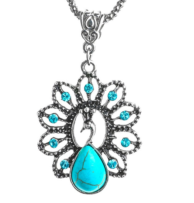 The Peacock Fashion Pendant