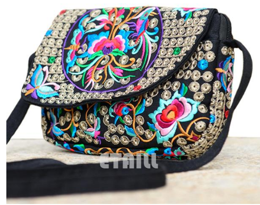 The Karnchana Messenger Bag - Panache Exclusive Jewelry