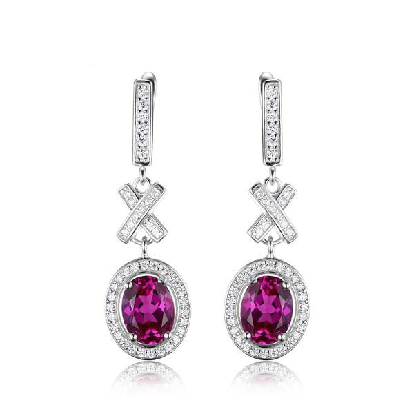 The Dahlia Drop Earrings - Panache Exclusive Jewelry
