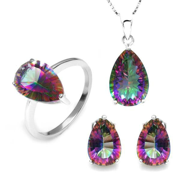 The Mystic Topaz Jewelry Set - Panache Exclusive Jewelry