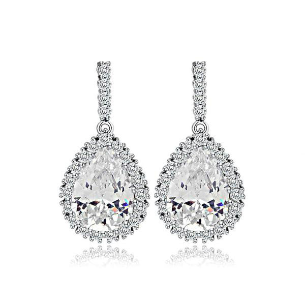 The Ice Drop Earrings - Panache Exclusive Jewelry