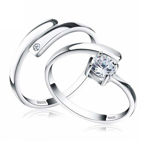 The Infinity Ring Set - Panache Exclusive Jewelry