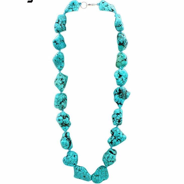 The Lawan Stone Necklace - Panache Exclusive Jewelry