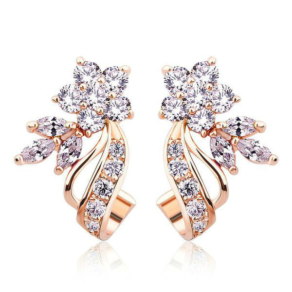 The Star of The Morning Stud Earrings - Panache Exclusive Jewelry