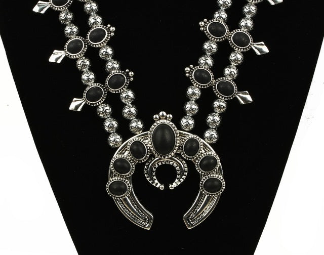 The Huyana Squash Blossom Necklace - Panache Exclusive Jewelry