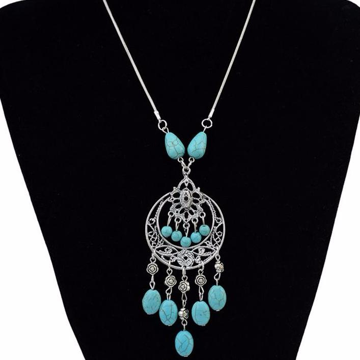 The Manal Bohemian Necklace - Panache Exclusive Jewelry