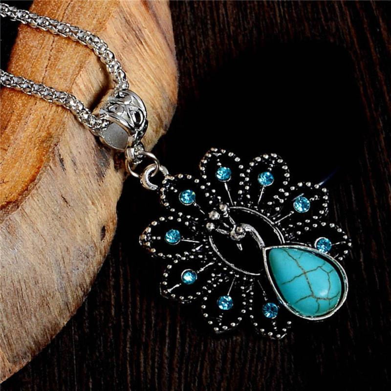 The Peacock Fashion Pendant - Panache Exclusive Jewelry