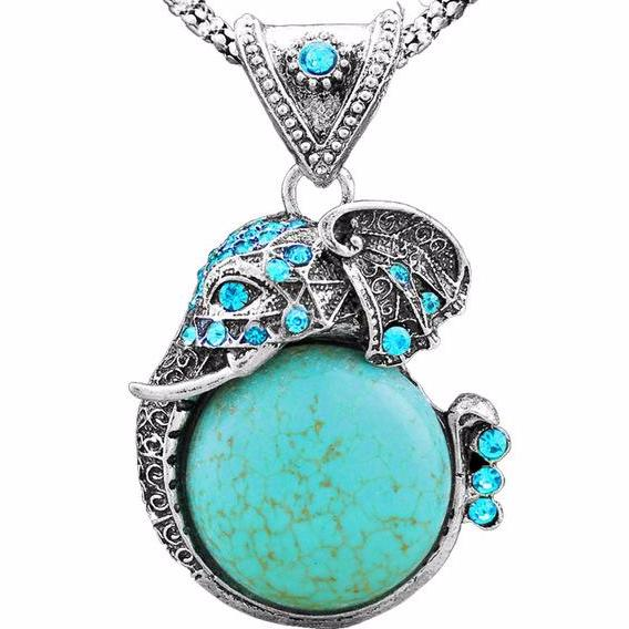 The Bohemian Elephant Pendant - Panache Exclusive Jewelry