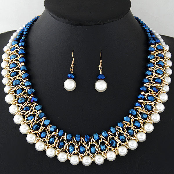 The Imani Statement Necklace Set - Panache Exclusive Jewelry