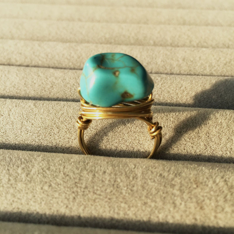 The Cluster Rock Ring - Panache Exclusive Jewelry