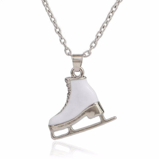 The Ice Skate Pendant Necklace - Panache Exclusive Jewelry