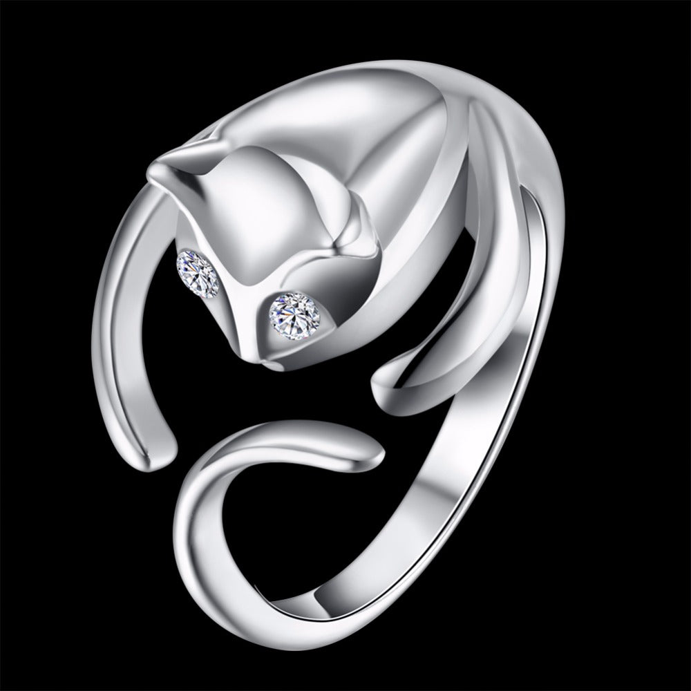 The Whimsical Kitty Ring - Panache Exclusive Jewelry