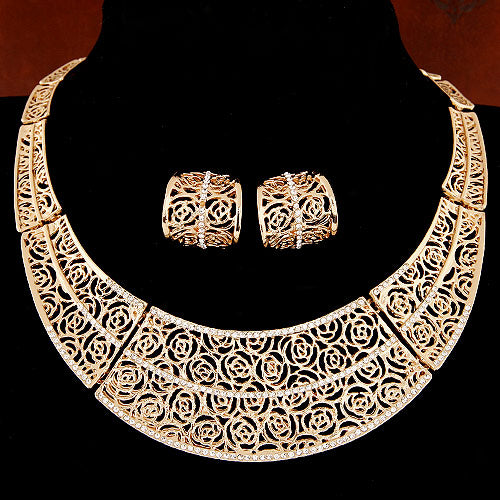 The Cressida Necklace Set - Panache Exclusive Jewelry