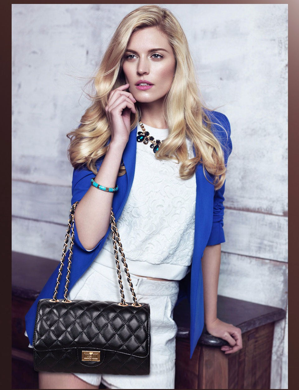 The Lindsey Handbag - Panache Exclusive Jewelry