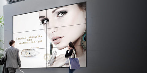 LG Video-Wall OLED Signage 55