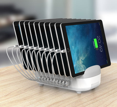 10 Ports USB Charging Dock Station