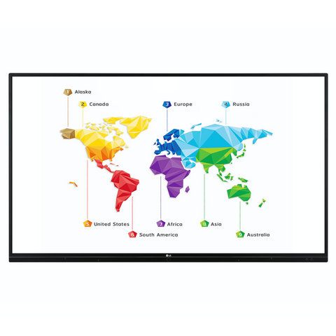 "LG Interactive board TR3BF Series - touch screen - 65"" / 75"" / 86"""