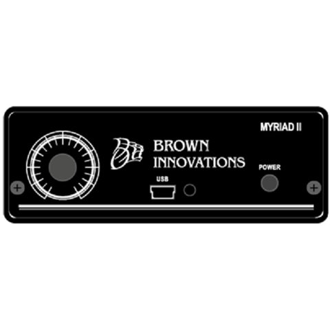 BROWN INNOVATIONS The Myriad amplifier