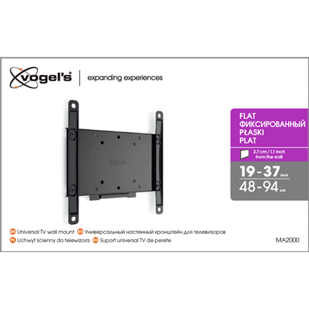 Vogels MA2000 (A1) Fixed TV Wall Mount 19
