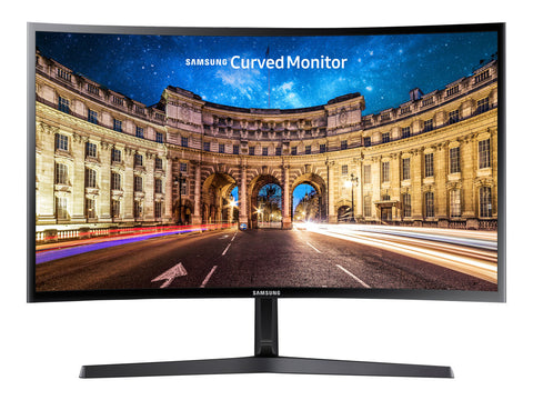 "Samsung C24F396FHU - 24"" Curved Monitorius"