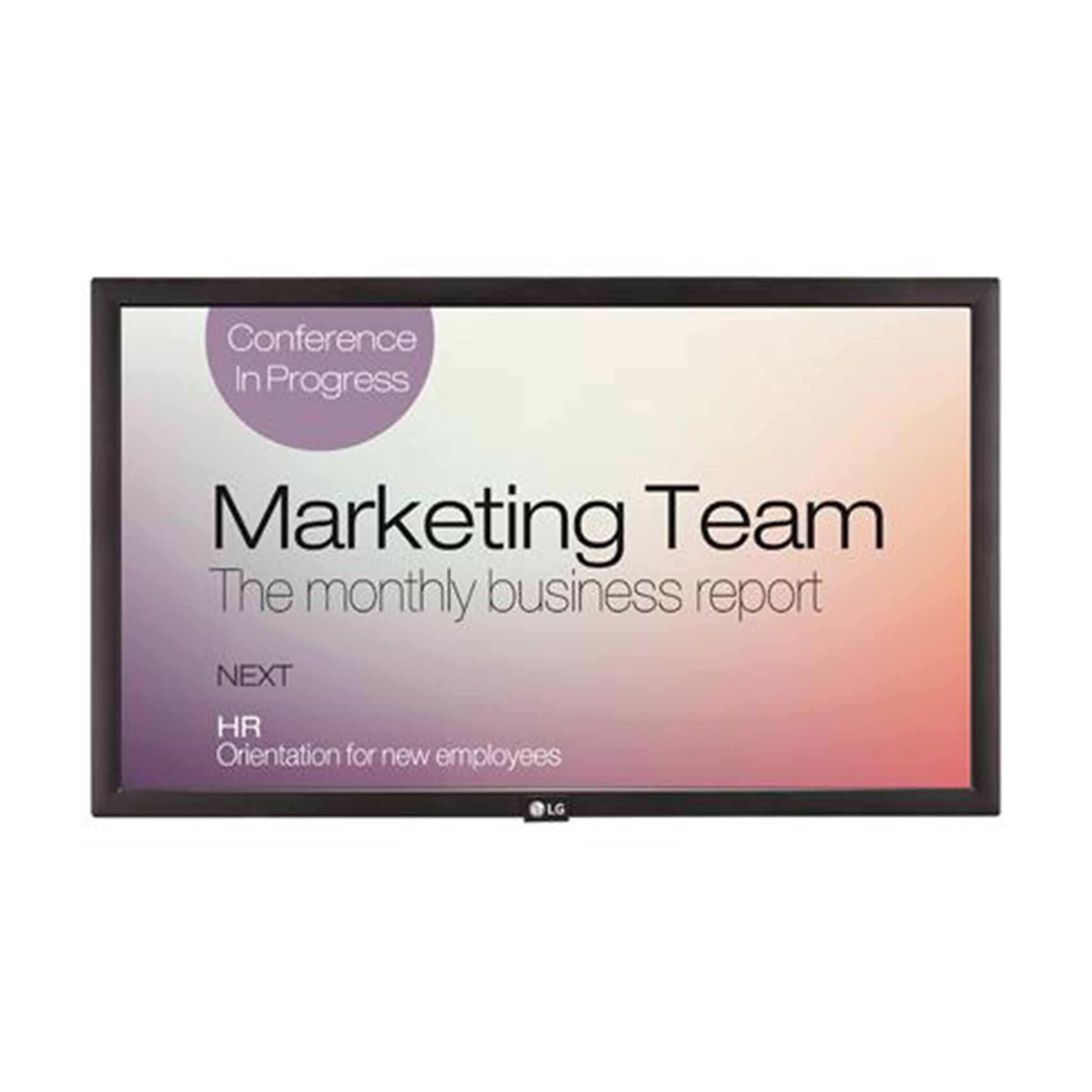 LG Commercial Signage Display SM3 series - 22""