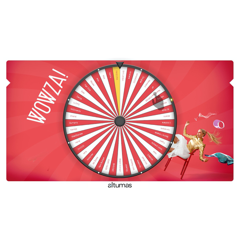 Funky Prize Wheel Desktop PC perpetual license
