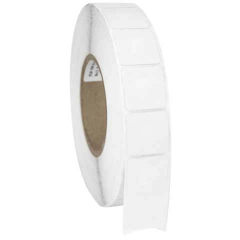 SENSORMATIC RF 40X40MM LABELS - WHITE - ROLL OF 2,000